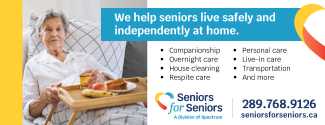 senior women at home in bed